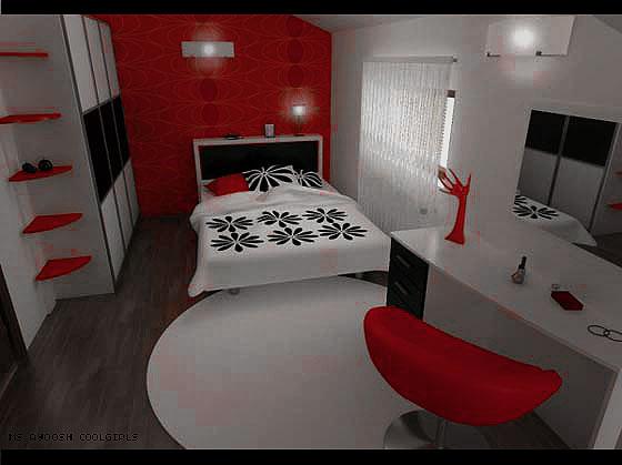 غرف نوم خيالية 2021 ،<p></p><br> <p></p><br>صور غرف نوم باللون الاحمر 2021 ،<p></p><br> <p></p><br>ديكورات غرف نوم حمراء 2021