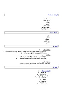 Arabic CV 009