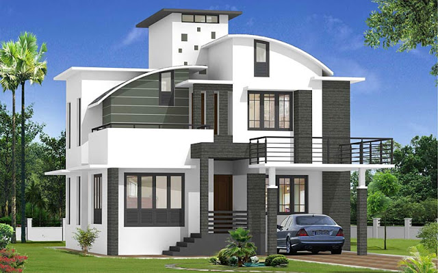 صور تصميم بناء منزل صغير خيالي روعة