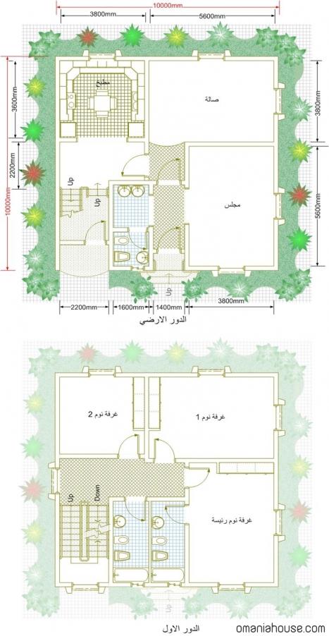 بالصور تصميم بناء منزل صغير خيالي روعة 20160805 387