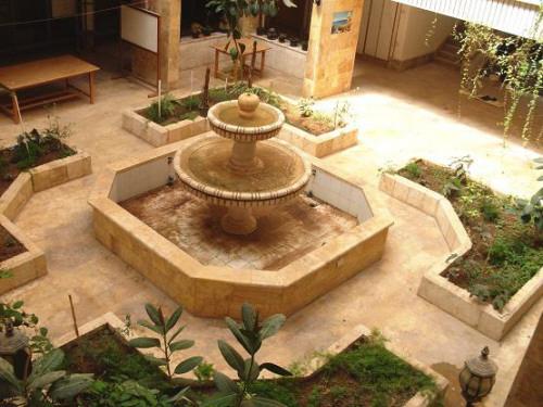 بالصور نافورات منزلية مغربية داخل الصالة نوافير ماء جميلة 20160806 386
