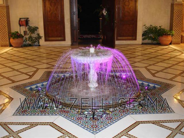بالصور نافورات منزلية مغربية داخل الصالة نوافير ماء جميلة 20160806 389