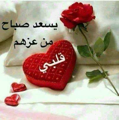 صور كلمات صباح الخير حبيبي