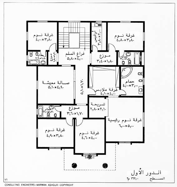بالصور اجمل خرائط بيوت 20160807 1116