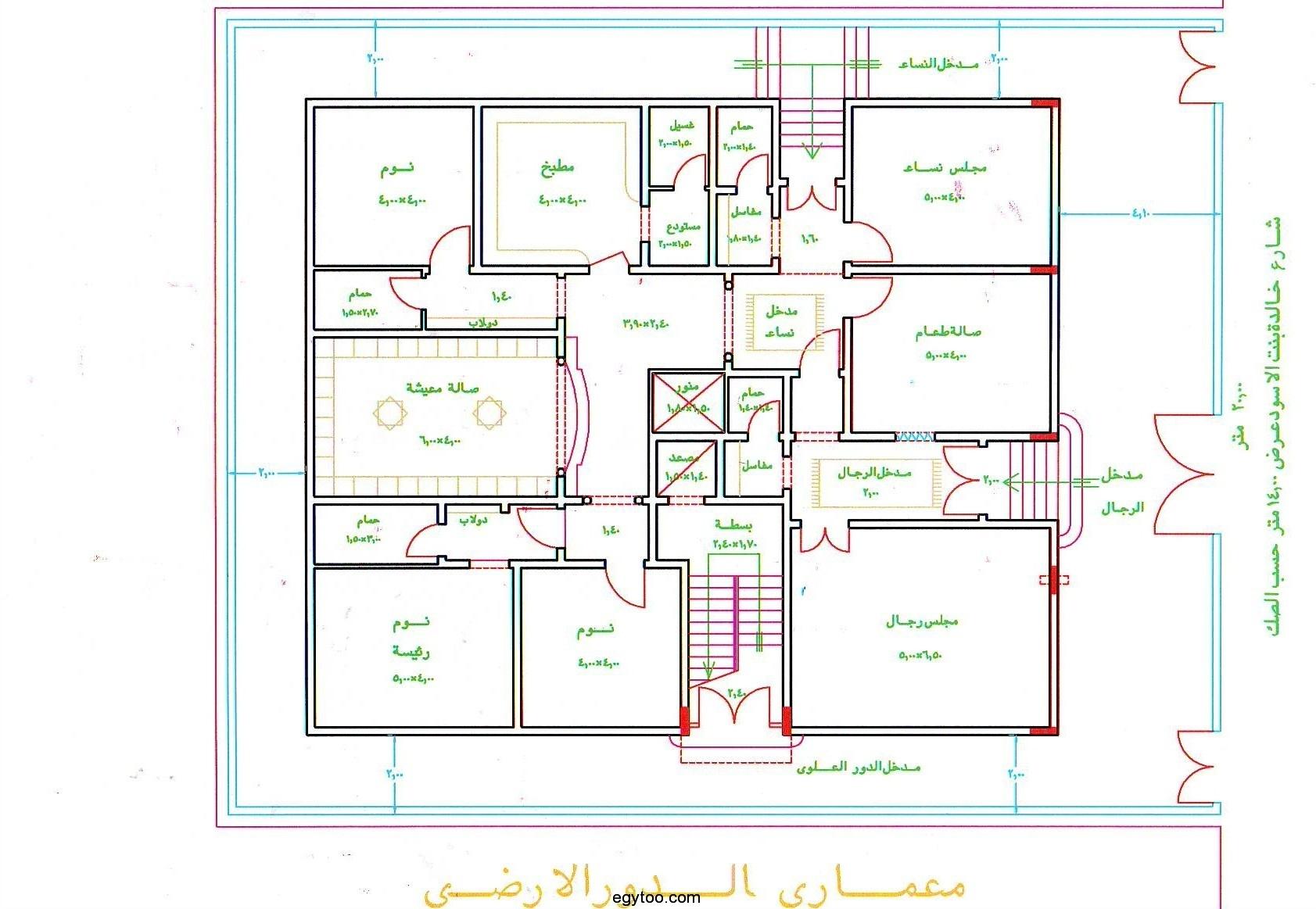 بالصور اجمل خرائط بيوت 20160807 1118