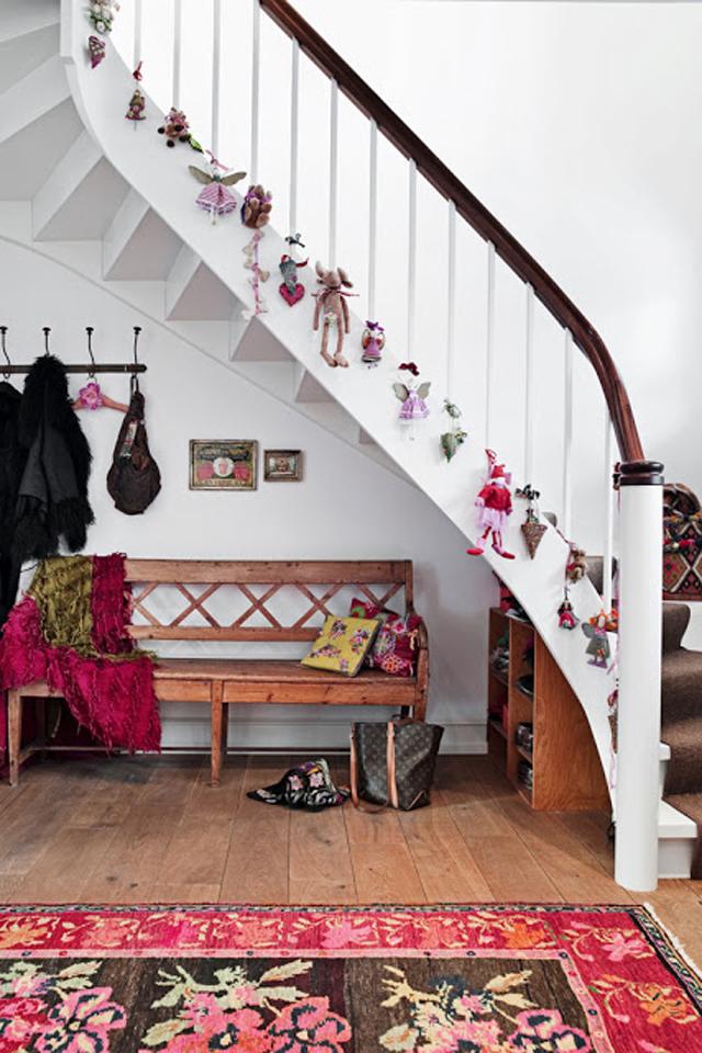 صور تزيين الدرج تزين السلالم افكار للمنزل من الداخل