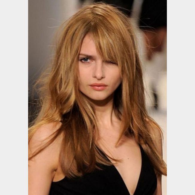 الشعر الطويل مَع الغرة أيضا فِي ال2017