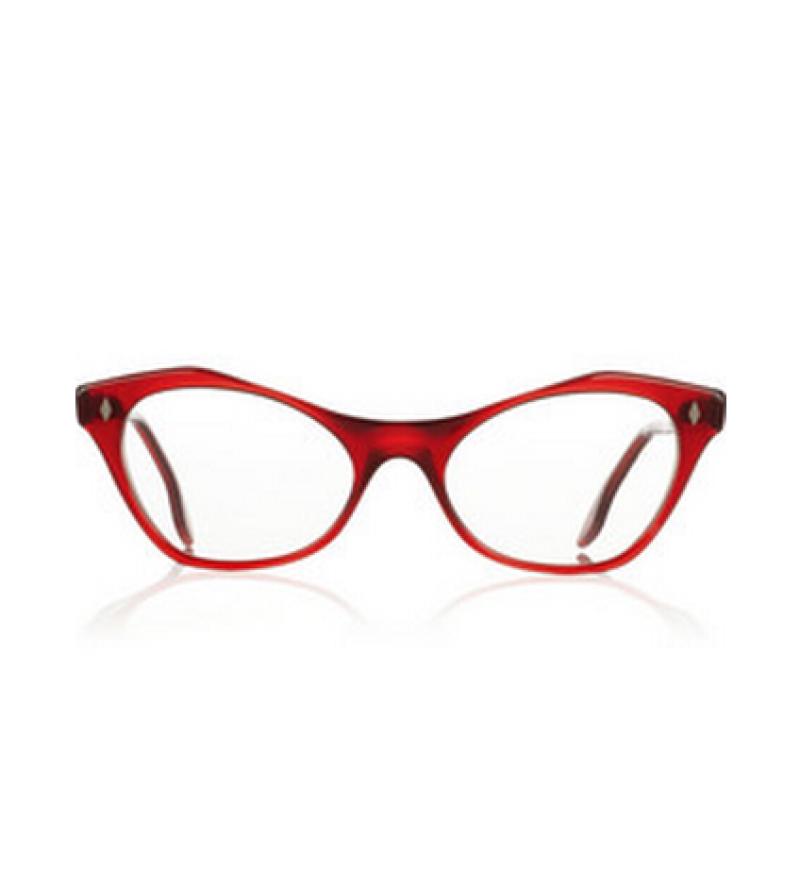 نظارات طبيه باللون الاحمر