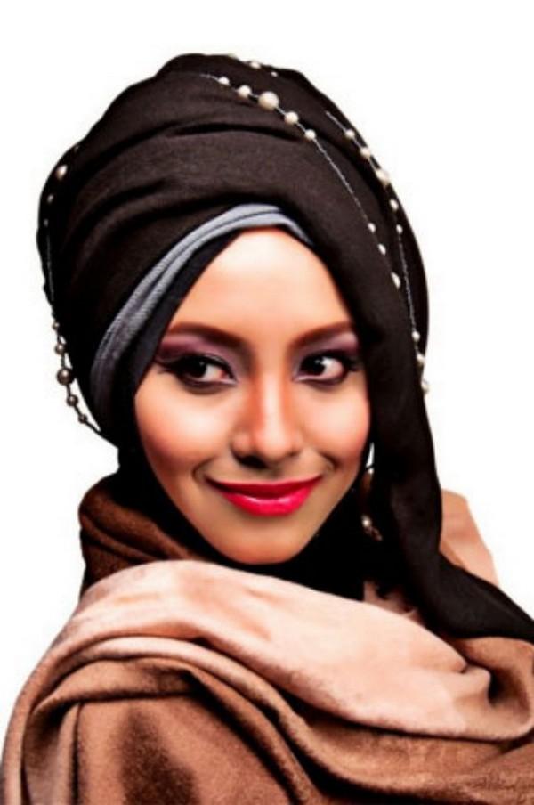 صور احدث لفات الطرح ربطات حجاب صور