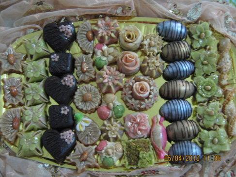 صورة حلويات جزائرية صور حلويات العيد