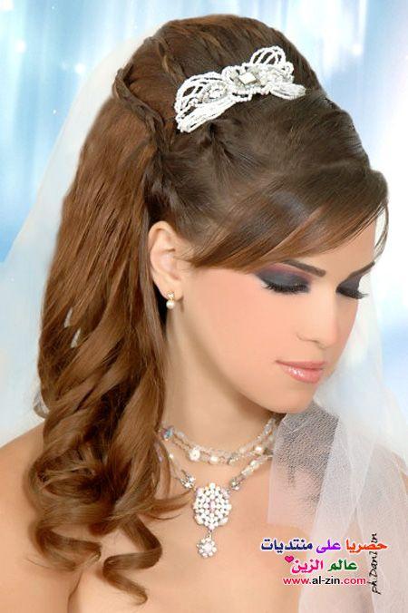 صور تسريحات روعه تسريحه شعر للعرايس 2017