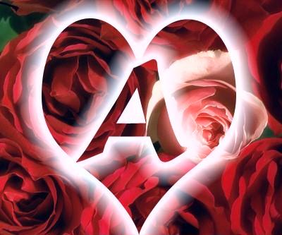 صور صور حرف الالف داخل قلوب