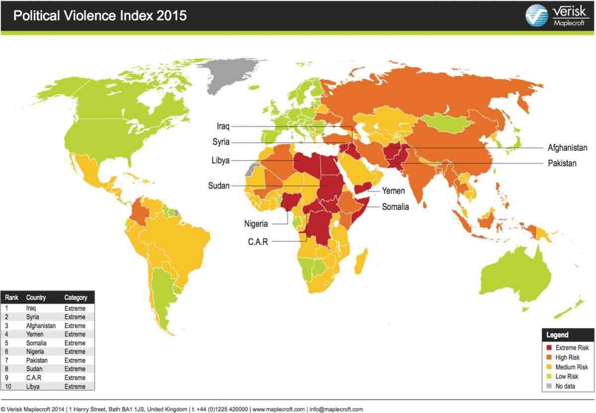 صور خريطة العالم السياسية 2017
