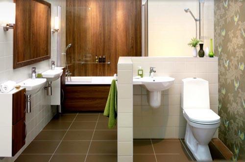 صور تصاميم حمامات صغيرة المساحة