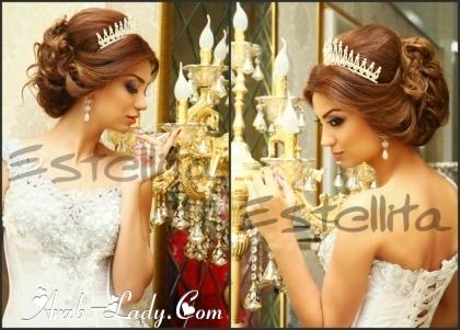 بالصور احدث تسريحات العرائس واو جنان 1807 5