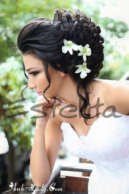 صور احدث تسريحات العرائس واو جنان