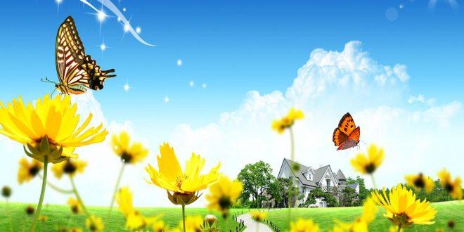 صور موضوع تعبير عن الربيع للصف السادس الابتدائى