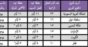 صورة اجازات سلطنة عمان 2019