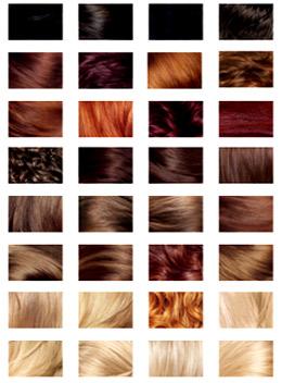 كتالوج اندريا لصبغة الشعر