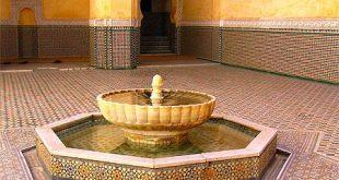 صورة نافورات منزلية مغربية داخل الصالة نوافير ماء جميلة 20160806 385 310x165