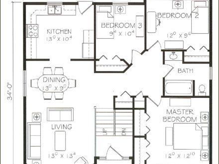 صور تصاميم مخططات منازل عادية