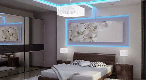 صور ديكور اسقف غرف نوم الرئيسية