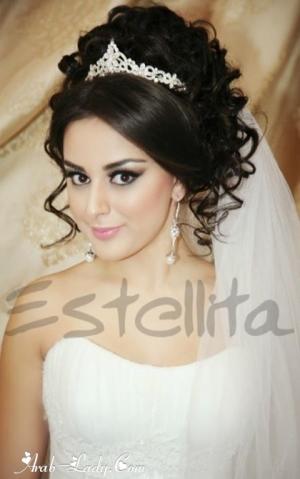 اجمل صور تسريحات العروس