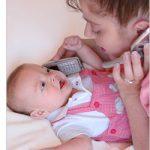 مادا يحب الطفل الرضيع في الشهر الثالث