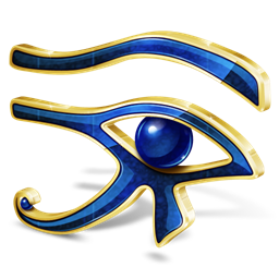 صور شكل العين الفرعونية
