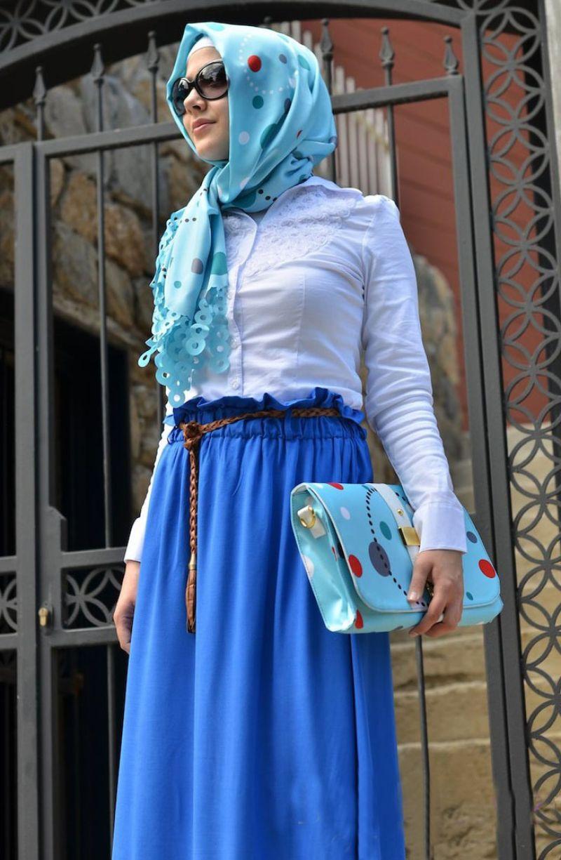 بالصور ملابس العيد 2019 للمحجبات 20160907 176