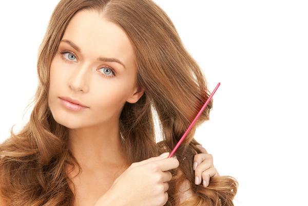 صور تسليك الشعر المتشابك