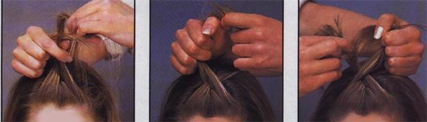 صور طريقة عمل السنبلة في الشعر الطويل