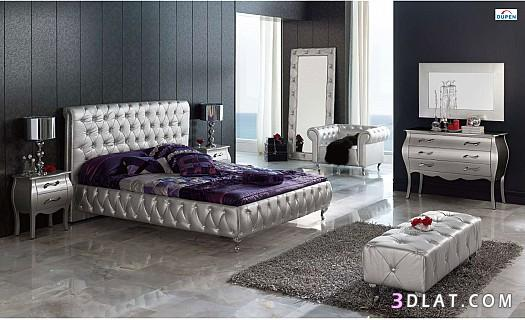 صور غرفة نوم لون اسود