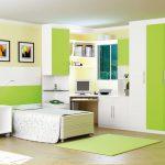 غرف اطفال باللون الاخضر 2019 ديكورات غرف اطفال خضراء 2019