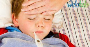 علاج تخفيض الحراره للاطفال