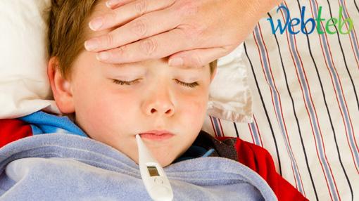صور علاج تخفيض الحراره للاطفال