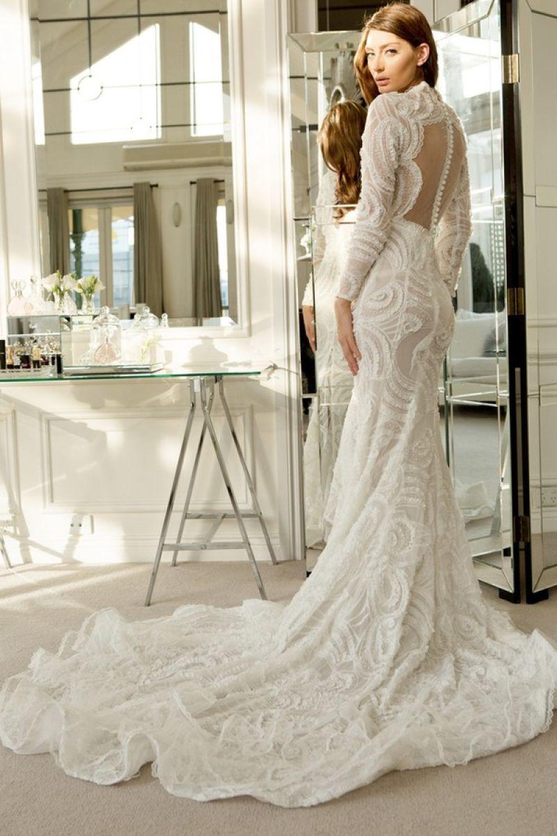 صور ملابس عروس تركية