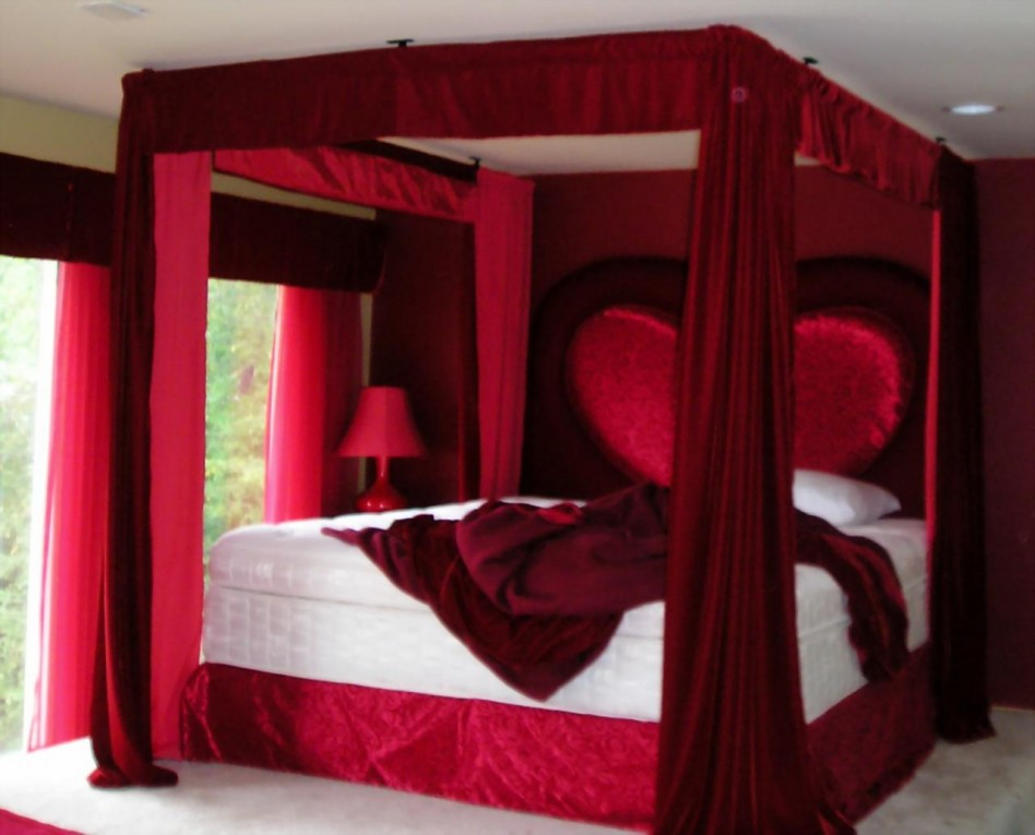 صور غرف اطفال حمراء 2019 اجمل غرف الاطفال الحمراء