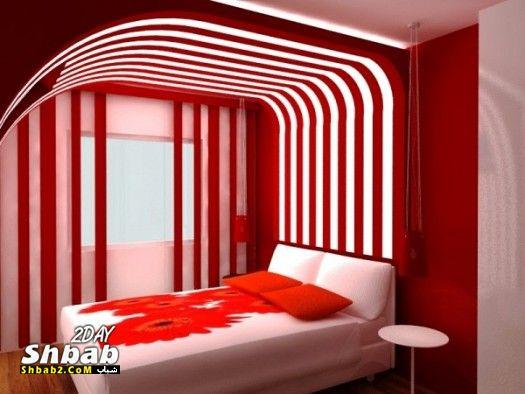 بالصور غرف اطفال حمراء 2019 اجمل غرف الاطفال الحمراء 20160908 2290