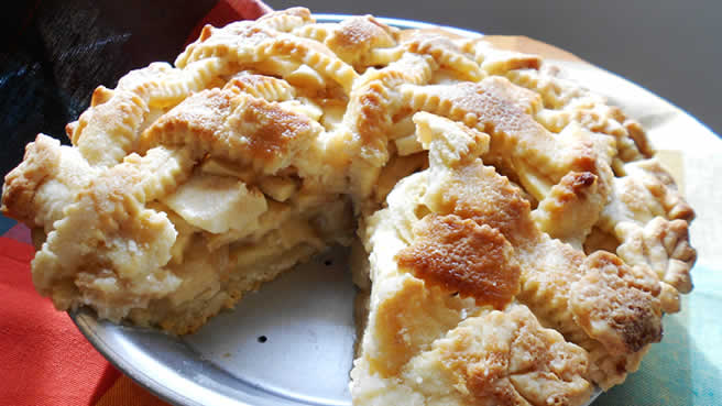 صور وصفات بالتفاح   رائعة وشهية