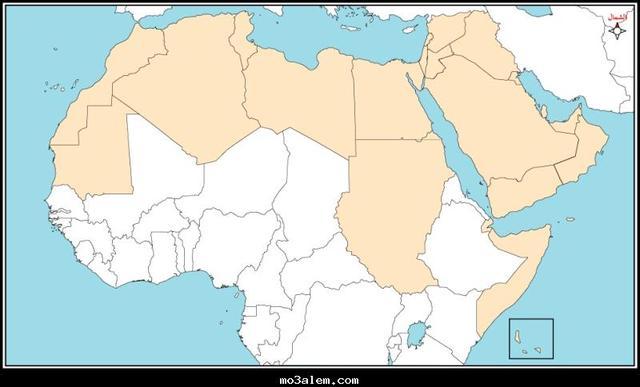 صور الخريطة الصماء للعالم