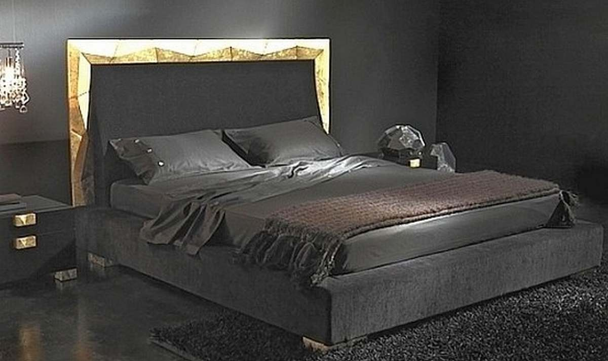 صور غرف نوم سوداء