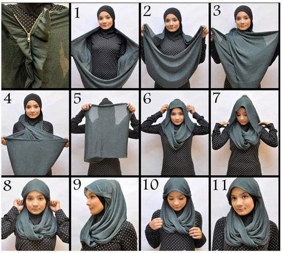 بالصور كيفية صنع الحجاب للفتيات 20160908 2841