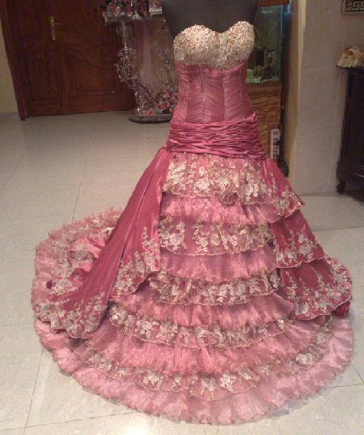 بالصور فستان ملكه للبيع 20160908 3391