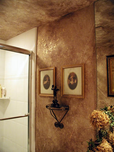 صور ديكور حوائط برونز