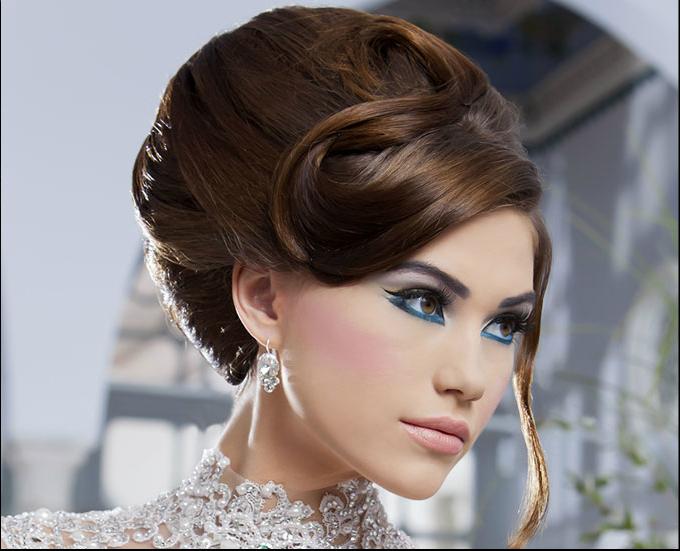 بالصور اروع التسريحات والمكياج للعرائس 20160908 78