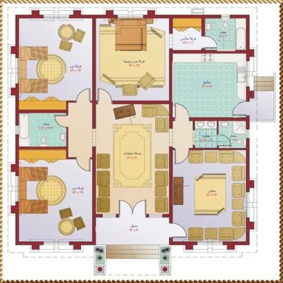 بالصور اجمل المنازل فى ليبيا 20160908 816