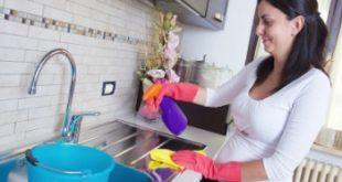 اسرع طريقة لتنظيف المطبخ