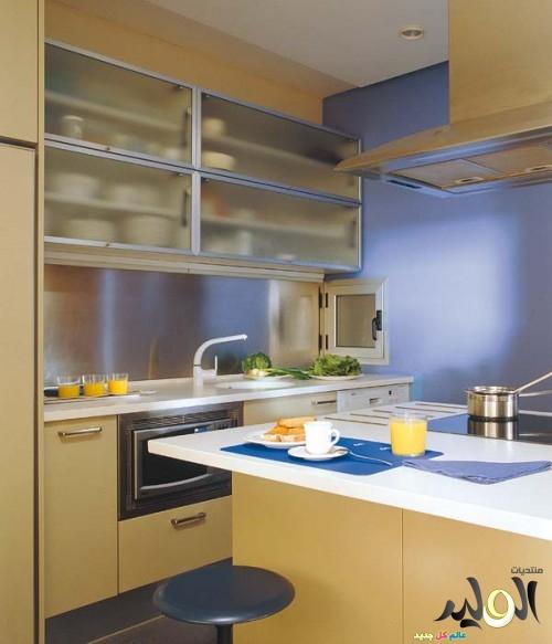 صور ديكور المطبخ الصغير العصري
