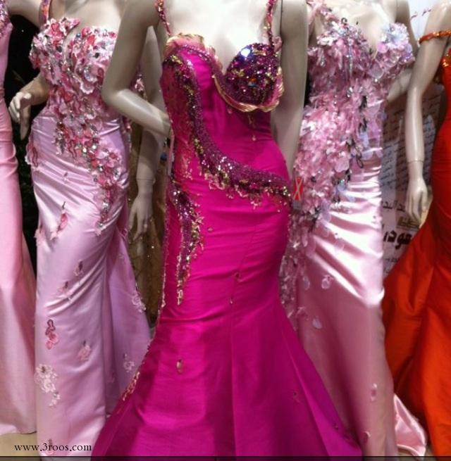 صور فستان تصميم سميره حلواني للبيع
